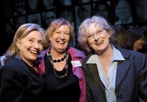 HillaryClinton Inez McCormack MerylStreep
