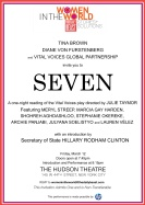 Invitation - Star-studded Seven on Broadway